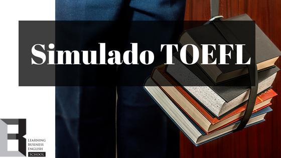 Simulado-TOEFL