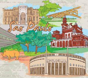 Desenho De Sao Paulo